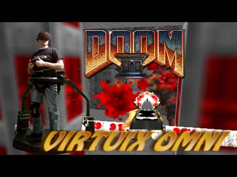 Virtuix Omni Doom 2 Gameplay Oculus Rift GZ3Doom