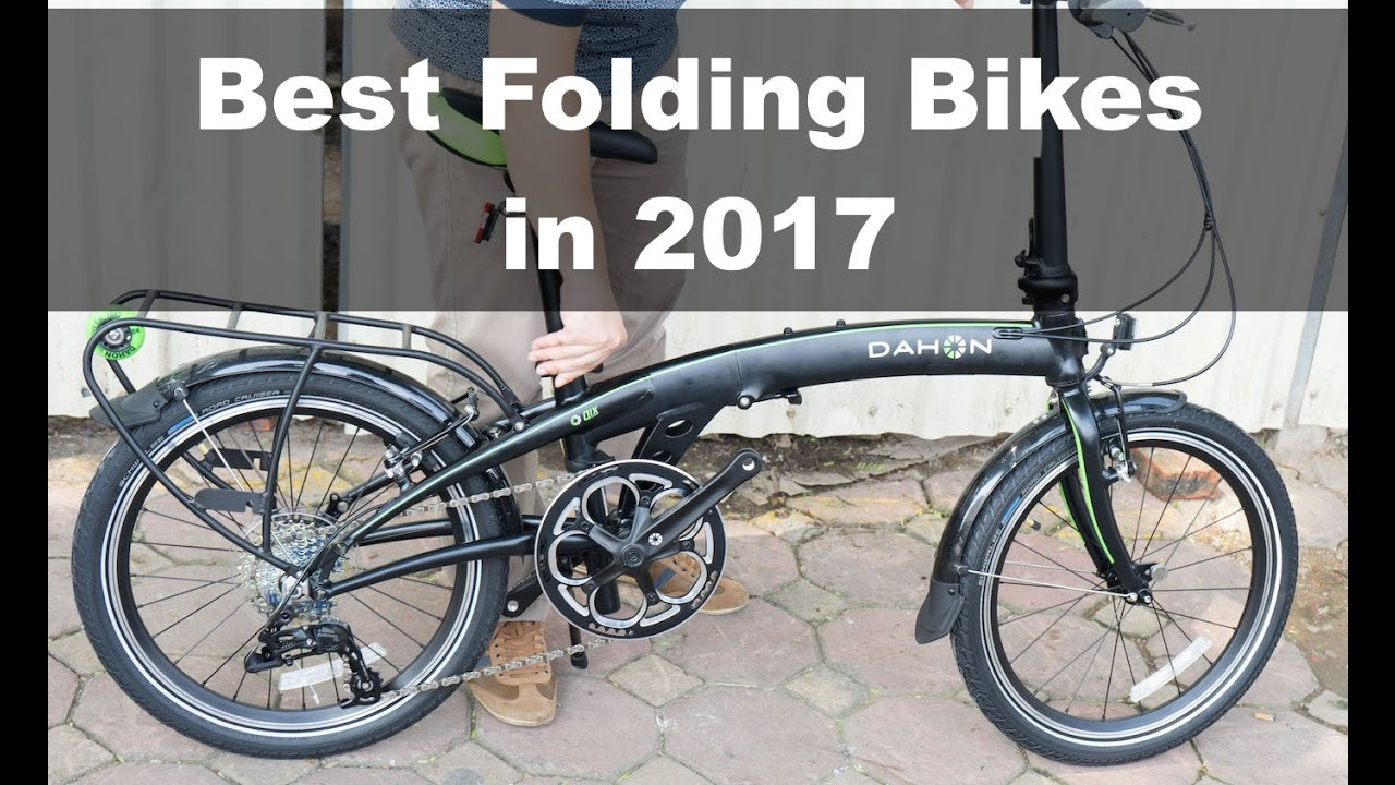 1c063f053c9 The Best Folding Bikes to Buy in 2017 - YouTube