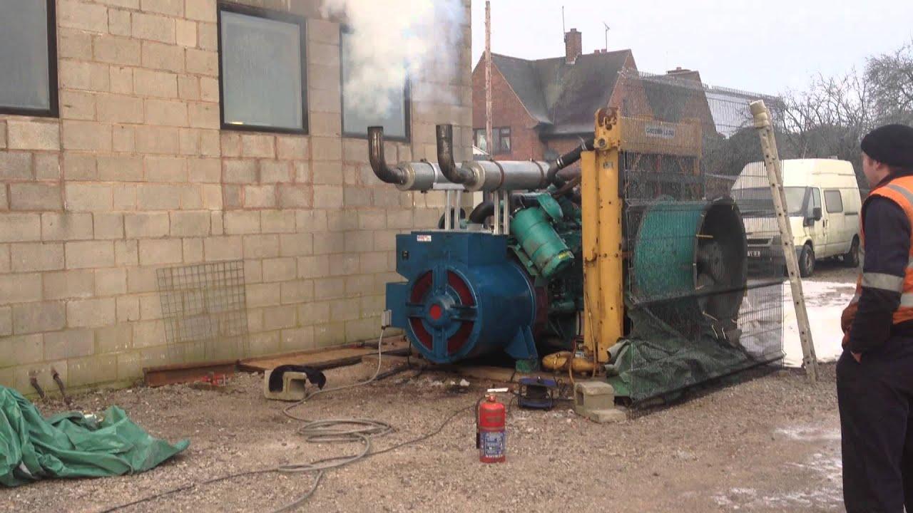 500KVA Cummins Diesel Generator set cold start smooth run