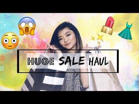 Huge Sale Haul! (Zara, H&M, Bershka, Sephora, Kiko Milano, and Subdued) | Tricia Caluag