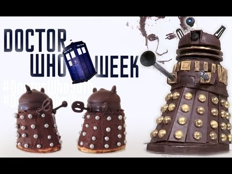 Doctor Who Cake & Easy Dalek Treats by How To Cook That, Ann Reardon