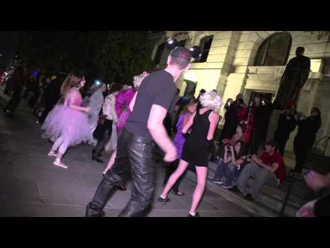 THRILLER Halloween FlashMob 2012 - New Orleans
