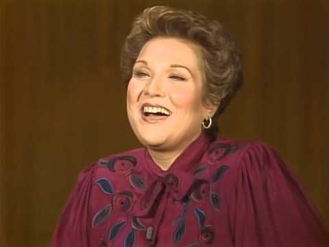 Interview with Marilyn Horne discussing Rossini and L'Italiana in Algeri (1985)