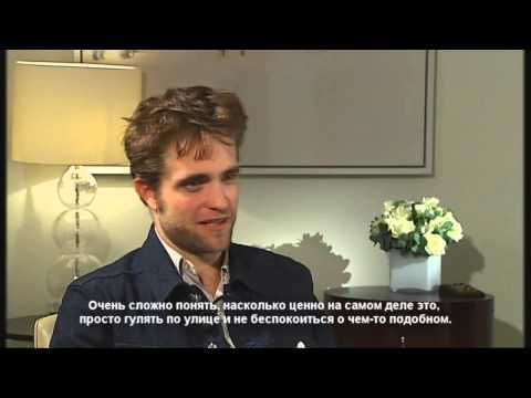 Channel 4 News: Robert Pattinson on fame, Twilight and not doing drama GCSE (russian subtitle)