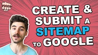 Create \\u0026 Submit a Sitemap for Google (Works also on WordPress without plugins)