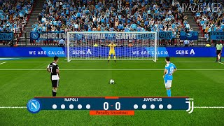 PES 2020 | Napoli vs Juventus | Penalty Shootout