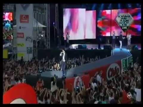 Dony & Alex Mica - Mi Hermosa (LIVE @ Romanian Music Awards 2012) RMA 2012.flv