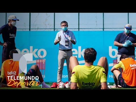 josep-maria-bartomeu-sorprende-en-el-entrenamiento-del-barcelona-|-telemundo-deportes