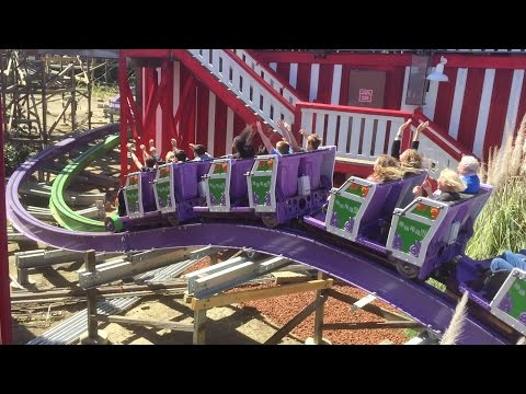 Six Flags Discovery Kingdom Joker VIP Preview Day Vlog HD