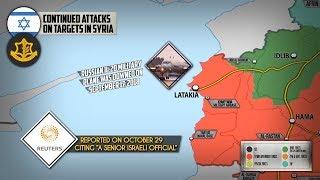 30 октября 2018. Военная обстановка в Сирии. Заявления о новых ударах Израиля по Сирии.