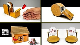 TOP 4 Amazing Diy Projects You Can Do At Home From Cardboard