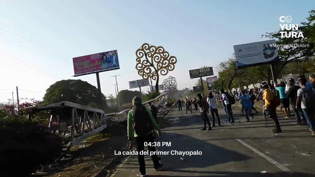 #MemoriasDeAbril: 20 de abril de 2018 en Managua, Nicaragua