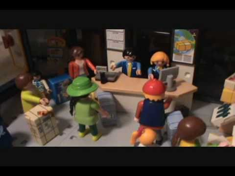 A playmobil life christmas eve at the post office youtube for Playmobil post