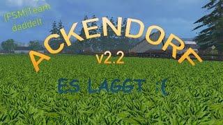 Wir spielen Ackendorf v2.2 auf Stufe Schwer. Viel Spaß!