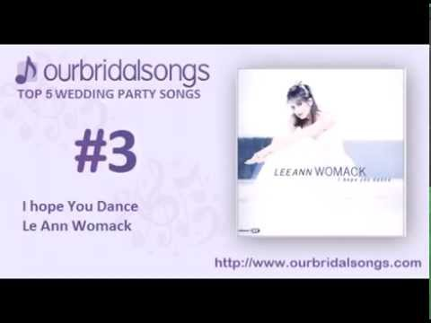 Top 5 Wedding Party Songs