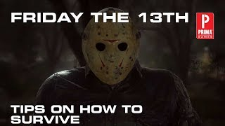 Friday the 13th Tips - How to Survive, Escape Jason