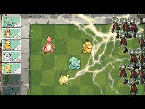 Pokémon Vs Plants Vs Zombies DAY #1