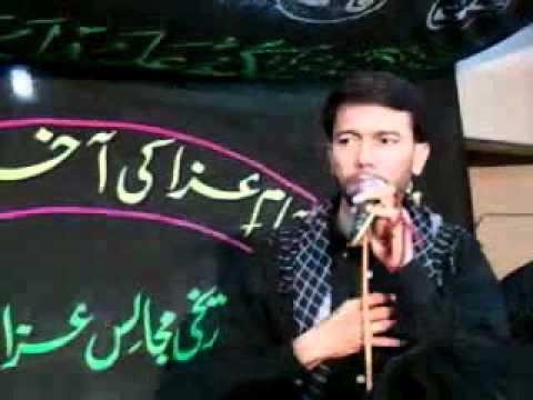 Ae Khuda Hai Yehi aarzo  - ALI SAFDAR Live in Hussainabad Malir 2011