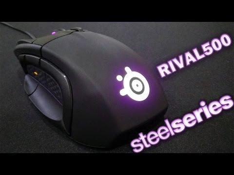SteelSeries Rival 500 - обзор пятнадцатикнопочной мыши с виброэффектом