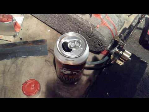 Prototype crankcase for m27 steam engine