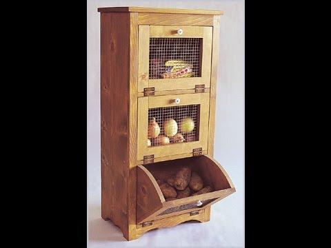 Шкаф для хранения овощей