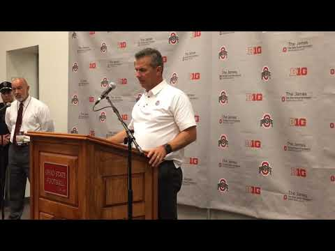 Urban Meyer's press conference after Ohio State's 62-14 win vs. Maryland