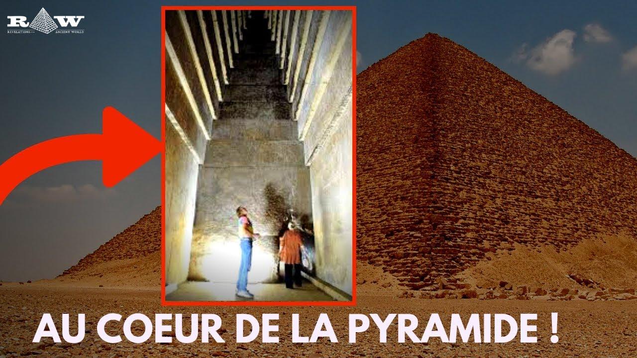 Les Incroyables Chambres De La Pyramide Rouge En  U00c9gypte