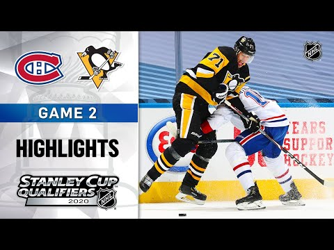 NHL Highlights | Canadiens @ Penguins, GM2 - Aug. 3, 2020