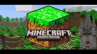 Minecraft pe #1 Строительство замка. Место стройки.