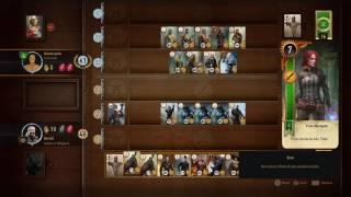 The Witcher 3 Blood and Wine - Sfida a Gwent con la Piccola Fiammiferaia