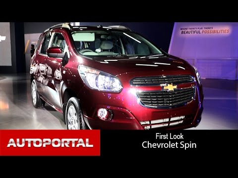 Chevrolet Spin First Look - AutoPortal