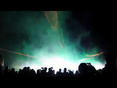 Light Laser Pyroshow Wittenberg Lichternacht Marktplatz