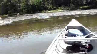 4hp on canoe