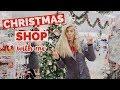 CHRISTMAS SHOP WITH ME!