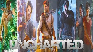 UNCHARTED The Complete Saga All Cutscenes Movie (Uncharted Lost Legacy, 1,2,3,4)