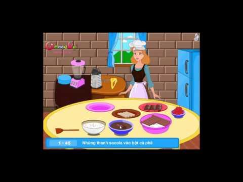 Chơi game Lọ lem làm bánh Tiramisu - Game Vui