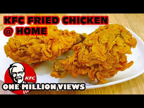 Kfc Style Fried Chicken At Home Recipe L Kfc Style Crispy Fried Chicken Recipe At Home L By Benazir