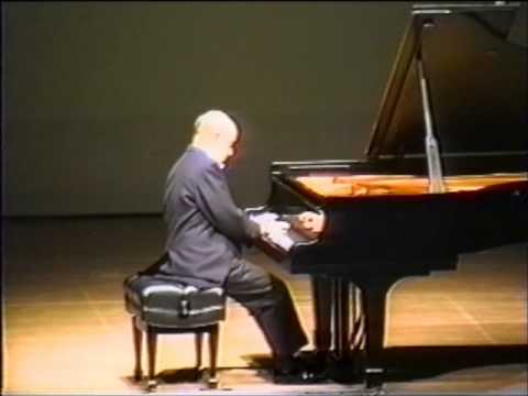 SHURA CHERKASSKY LISZT SONATA IN B MINOR 'LIVE' 1995