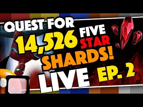 Quest for 14,526 Five Star Shards for Stark Spidey Ep 2 LIVE!