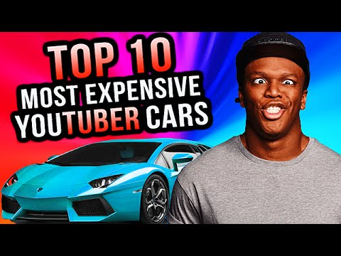 Top 10 MOST EXPENSIVE Youtuber Supercars!