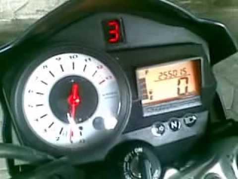 Suzuki Satria F150 - Satria FU Pakai Indikator Gear Digital Custom [SHOS]