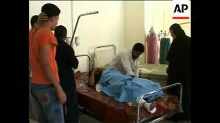Raid on Sunni Iraqi TV station, bodies of victims, car bomb