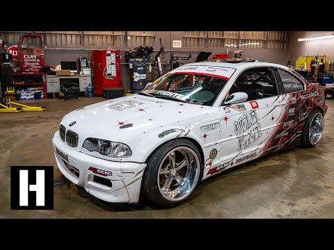Man-line King Micah Diaz's V8 Powered BMW Shred Machine