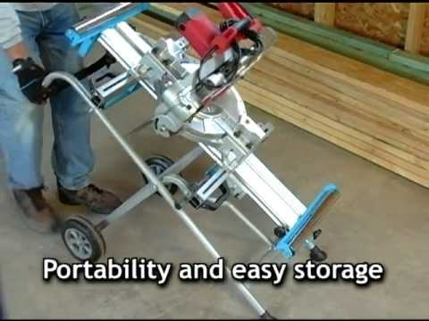 portable chop saw stand plans channellock mitre saw mount and stands youtube
