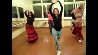 Танец  восточная песня