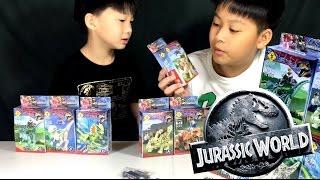 ตัวต่อไดโนเสาร์ Jurassic World ของจีน