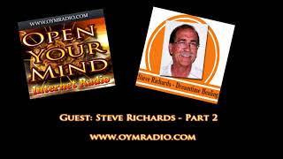 Open Your Mind (OYM) Radio - Steve Richards - Part 2 - 25th March 2018