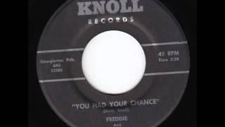 Freddie & The Swingin' Bachelors - You Had Your Chance