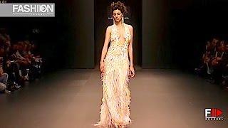 MARCO & MARIA Spring Summer 2010 Cibeles Madrid Novias Womenswear   Fashion Channel