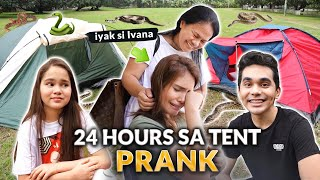 Download NAPRANK SI IVANA! *24 HOURS SA TENT CHALLENGE*   IVANA ALAWI